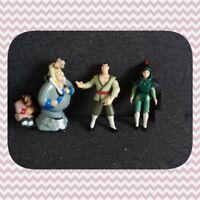 Disney Jeux Jouets Figurine en plastique x3 Mulan TBE