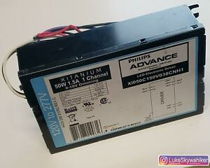 NEW Phillips Advanced Xitanium 50W 1.5A 1 Channel LED Driver 120-277V 0.53-0.23A