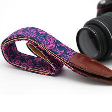 Retro Color plate style Camera Shoulder Neck Belt Strap For SLR DSLR Canon LL-17