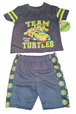 TEENAGE MUTANT NINJA TURTLES SHIRT AND SHORTS~TEAM TURTLES SZ 3T~NEW W/TAG