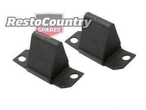 Ford Rear Leaf Spring Bump Stop PAIR XA XB XC XD XE XF EA EB ED EF EL AU BA BF