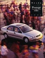 1995 Mazda Protege 20-page Original Car Sales Brochure Catalog