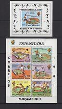 MOZAMBIQUE 1981 - ESPANHA ESPANA 82 - MUNDIAL DE FUTEBOL ALTLETICO MADRID MNH**