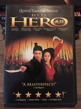Hero- Quentin Tarantino (Dvd 2002) (Ws Dub Sub Dol Dts) Jet Li With Insert✅