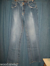 Halston Stretch Jeanswear Size 4 Cotton mix Pre-Owned Jeans
