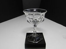 "Jefferson Krys-Tol Chippendale Cocktail Stem Clear Crystal 4 3/8"" T ca1907-20s"