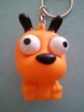 """Rubber DOG Eye-Popper Key Ring 1-3/4"""" NEW Eye popper Keychain (PO228) Puppy"""