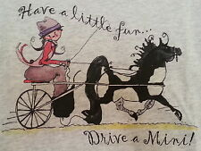 MINIATURE HORSE LOVERS! NEW DANA'S DOODLES DRIVE A MINI CHILD'S T-SHIRT!