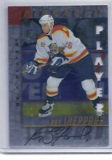 1997-98 BE A PLAYER RAY SHEPPARD DIE CUT AUTOGRAPH BAP AUTO 46 PANTHERS