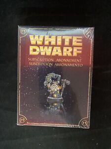 NIB!!! White Dwarf 2009 Subscription Abonnement Warhammer Citadel Rare 1833