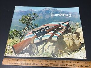 Vintage 1967 1968 Browning Firearms Gun Catalog 65page  + Price List