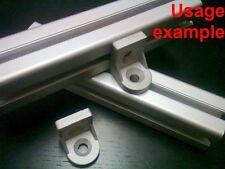 Aluminum T-slot profile variable deg rotation corner bracket 40x40, 4-set