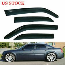 Vent Window Visor Shades Visors For Chrysler 300C 2005-2010 Vehicles Front&Rear (Fits: Chrysler)