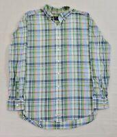 VINEYARD VINES CLASSIC FIT MURRAY Men XL Green Blue Pink Plaid L/S Button Shirt