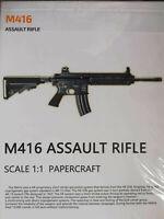 Y18-56 1//6 scale ES AD.2050.I dark version banshee Custom AR-15 Assault Rilfe