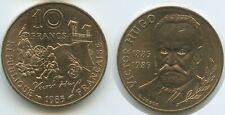 G8473 - France 10 Francs 1985 KM#956 Notre-Dame de Paris Victor Hugo Frankreich