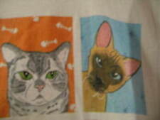 Y2k Rel-E-Vant Products Long T-Shirt Os Vintage Every Cat has 9 Lives Cat Lovers