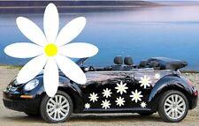 32 bianco Daisy Auto Decalcomanie, Adesivi, Grafica Auto, Daisy ADESIVI facile applicare fai da te