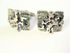 Cufflinks Silver 835, 13,73 G
