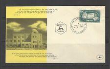 Israel, 1950, #23, FDC, Hebrew University