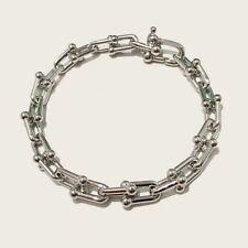 Men Bracelet Fashion Jewelry 1pc Accessory U Shape Bangle Rose Gold Silver Women