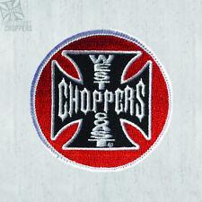 West Coast Choppers Toppa logo ricamato Tank 7 cm! 100% ORIGINALE! in magazzino!