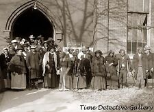 African American Former Slaves Reunion (1) - 1917 - Historic Photo Print