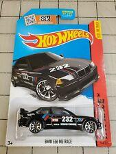 Hot Wheels Bmw E36 M3 Race Black #232 Hw Race