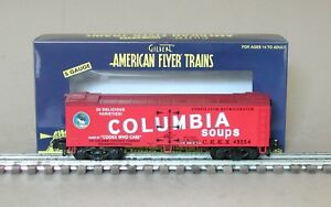 Lionel American Flyer 6-49954 Columbia Soups Wood Side Refrigerator Car