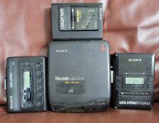 Sony Walkman Discman Lot Vintage