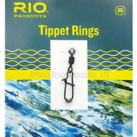 Rio Tippet Rings Trout & Salmon 12/20kg 10 Pack For Leaders Fly Fishing Line