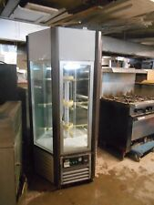 Refrigerated Vertical 5 Sided Rotating Pastry Cabinet