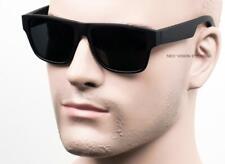 Square Cholo Sunglasses Super Dark OG LOC Style Gangster Soft Matte/Black ST12