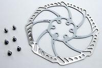 Ashima Aegis 180mm Mountain Bike Disc Brake Rotor WHITE 116g