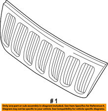 Jeep CHRYSLER OEM 05-07 Grand Cherokee-Grille Grill 55156814AE
