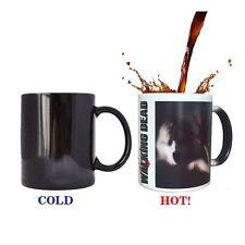 Hot Heat Sensitive Color Changing Female Zombie Mug Walking Dead Coffee Tea Cup