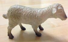 "1999 Plastic Farm animal Toy Figure White Sheep 5"""