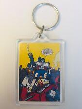 MEGATRON OPTIMUS PRIME Vintage Transformers Comic Poster Key Ring Chain Keyring