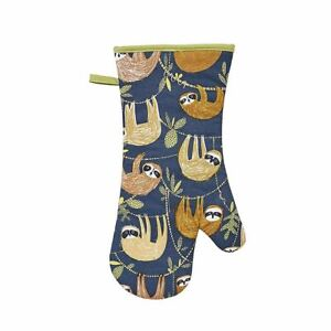 Ulster Weavers Sloth Oven Mitt Gauntlet, Ideal For Cooking & Baking, 100% Cotton