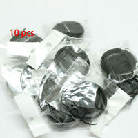 10pcs 67mm Center-Pinch Front Lens Cap + String for Nikon Canon Sony Olympus 10x