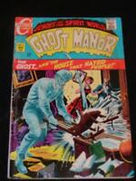 """VINTAGE COMIC BOOK - """"Ghost Manor"""" Echoes of the Spirit World, No. 2, Nov. 1968"""
