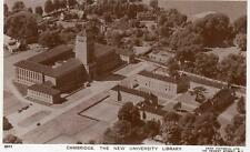 Cambridge New University Library Air Aerial View unused RP old pc Aero Pictorial