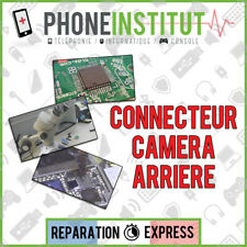 Reparation carte mere iphone 3G connecteur camera arriere