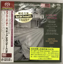 """Monty Alexander Trio Love Me Tender"" Japan Venus Records Audiophile DSD SACD CD"