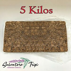 5kg Raw African Black Soap BULK Kilo Natural VEGAN UK Skin Treatment Vitamin E A