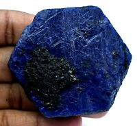 887.5 Ct Natural Huge Blue Sapphire Certified Earth-Mined Specimen Rough Gem
