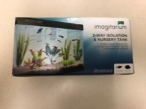 Imagitarium 3-Way Isolation & Nursery Tank New