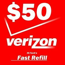 $50 VERIZON PREPAID > FASTEST REFILL DIRECTLY to PHONE > GET IT TODAY! > DEALER
