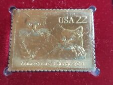 New listing Cats Maine Coon Burmese 1988 Fdoi Collectible Stamp New York Ny Sealed