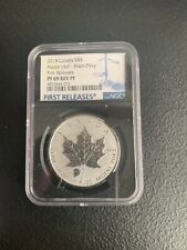 2018 Canada $5 Maple Leaf Bison Privy NGC PF69 Rev Proof *No Spots & No Reserve!